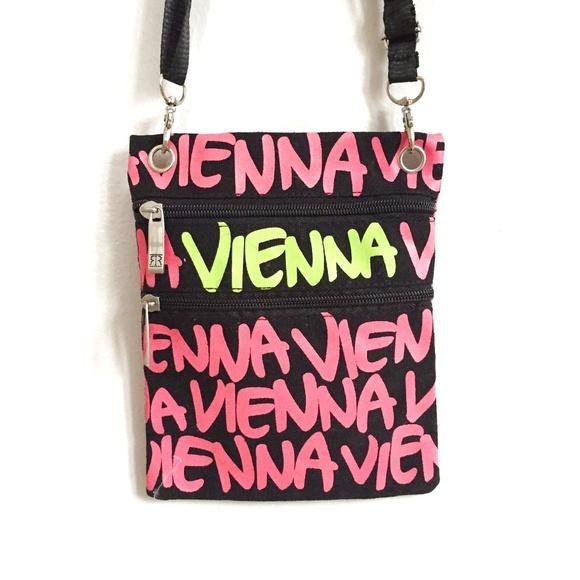 Robin Ruth Vienna Neon Crossbody Bag Purse